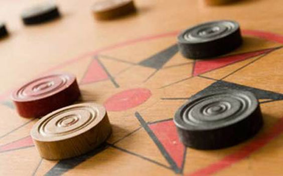 Carrom Game Olde Bangalore Resort